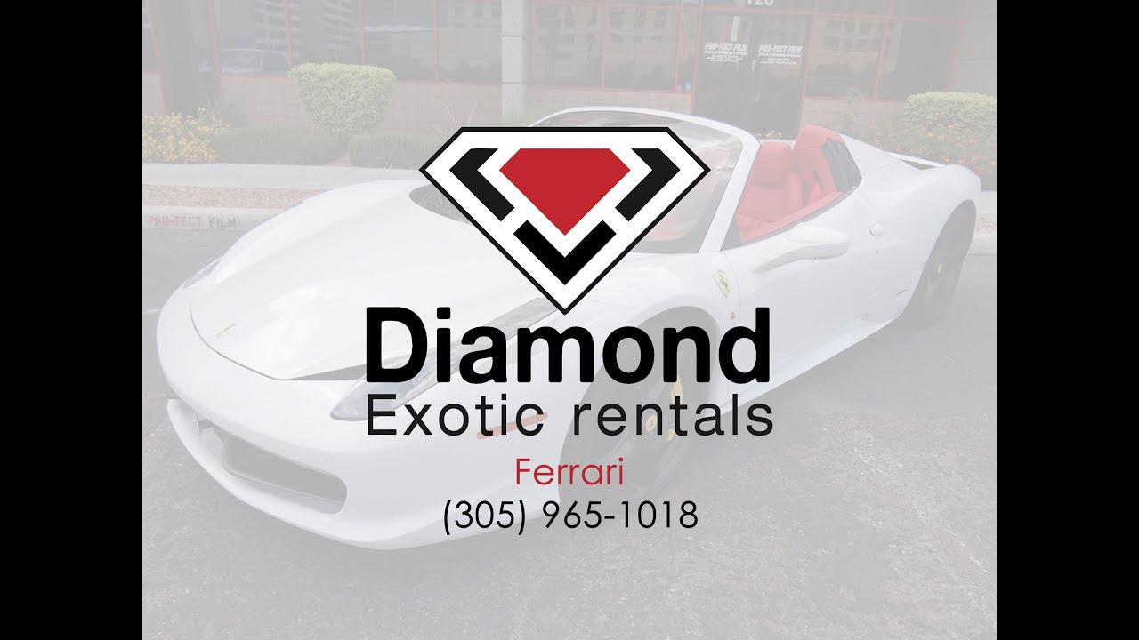 rental cars car onic california turbo rentals miami ferrari