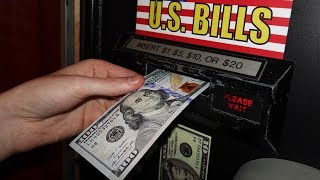 Trying to use $100 at the Arcade!