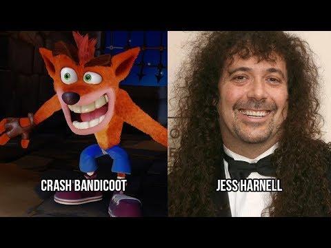 Characters and Voice Actors - Crash Bandicoot N. Sane Trilogy