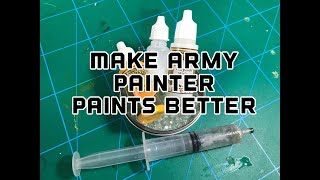 Make Army Painter Paints Amazing: Fixing The Issues And Review