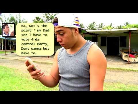 Cook Islands Election 2014, your vote (maori)