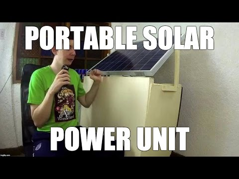 Portable Solar Power Unit
