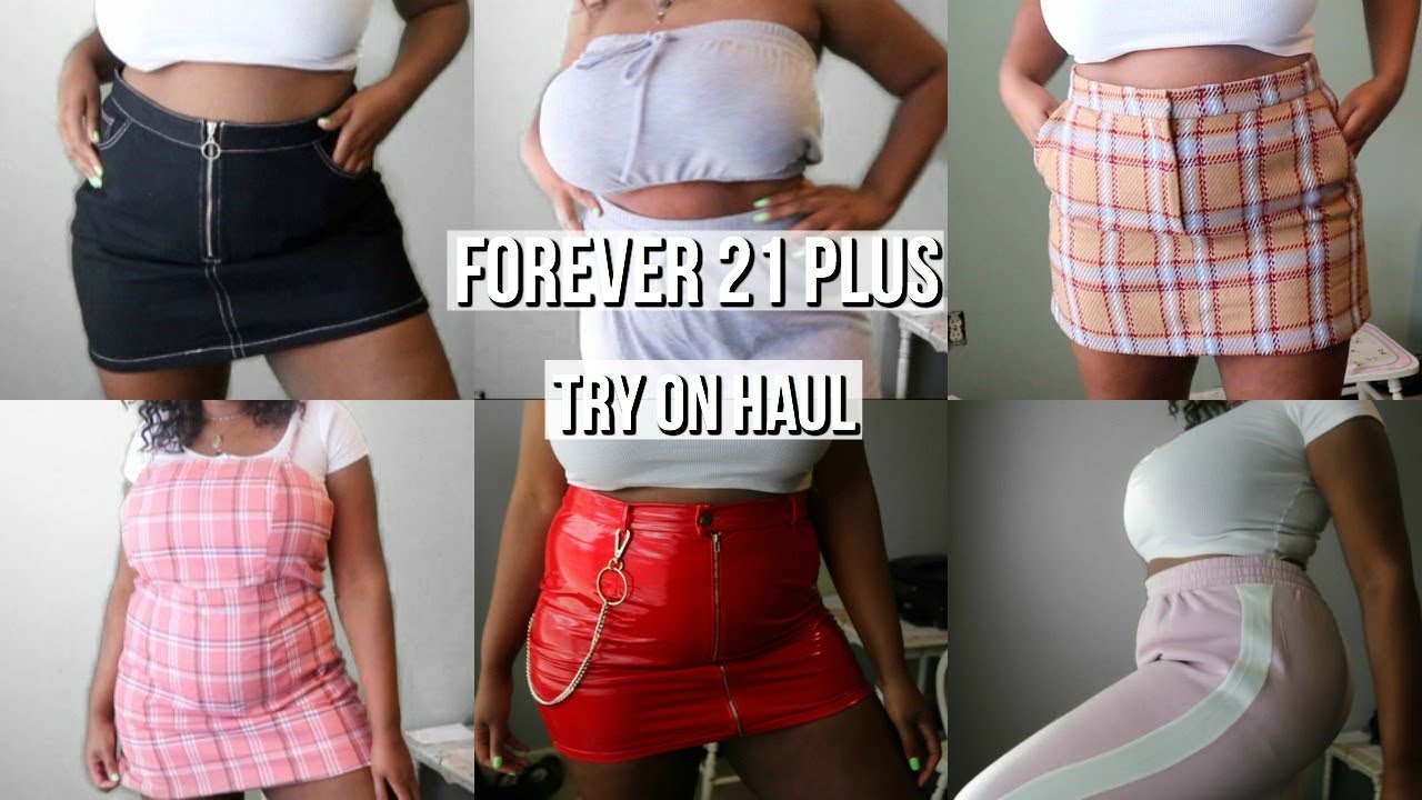 a685011fc8c Forever 21+ try on haul 2019 ( plus size fashion) - YouTube