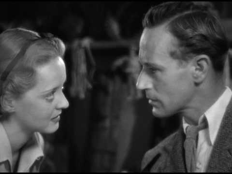 The Petrified Forest (1936) Great scene with Leslie Howard & Bette Davis