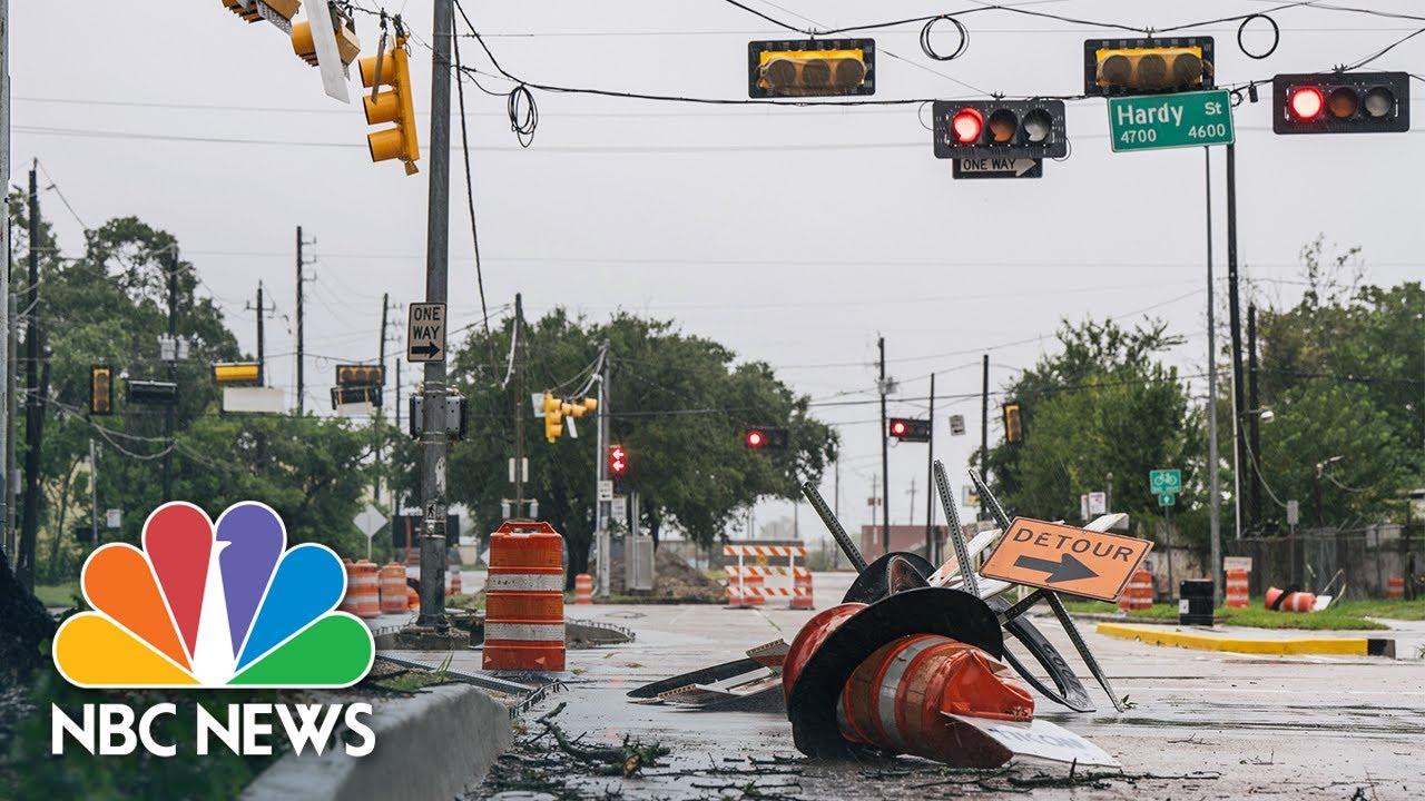 Tropical Storm Nicholas Slams Gulf Coast - NBC News
