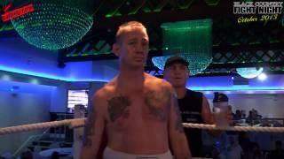 Black Country OCTOBER Fight Night - Chris Pollock VS Shane Williams - SHAREFIGHT.COM