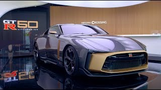 Nissan GT-R50 by Italdesign continues world tour, confirms production design