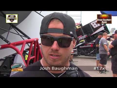 360 Knoxville Nationals Pre-Race Interviews from August 5, 2017!