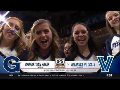 Villanova vs. Georgetown Highlights: #BIGEASThoops