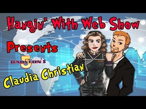 Claudia Christian Actress / Author (Susan Ivanova-Babylon 5) on the Hangin With Web Show
