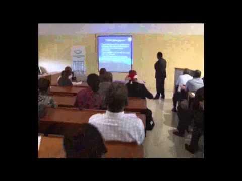 Professor Oyewole's Lecture on Grant Management@International Scholars Resource Centre, FUNAAB-1