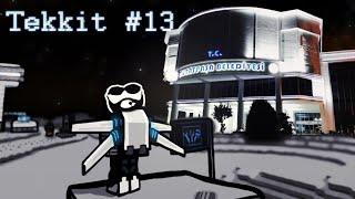 Minecraft Tekkit - Bölüm 13 - O Panel Yapılacak