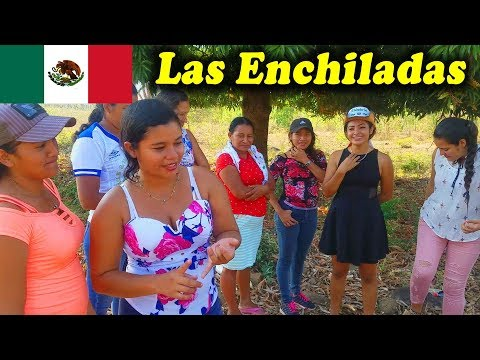 REVELAMOS LA RECETA DEL CAMPO LAS ENCHILADAS - En Casa De El Salvador Es Parte 2