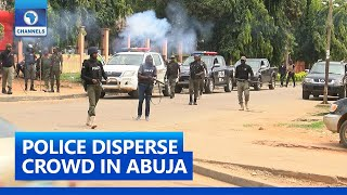 Security Operatives Foil Invasion Of Warehouse Storing COVID-19 Palliatives In Abuja