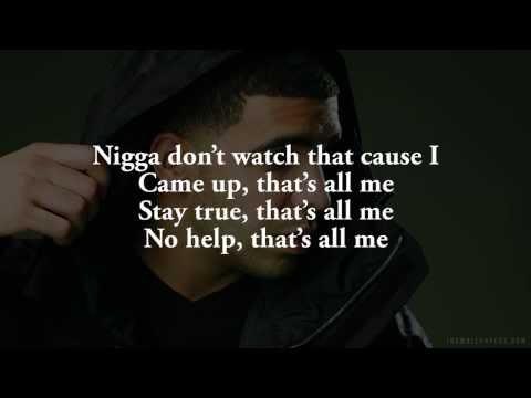 Drake ft  2 Chainz & big sean -- All me [Lyrics On Screen]