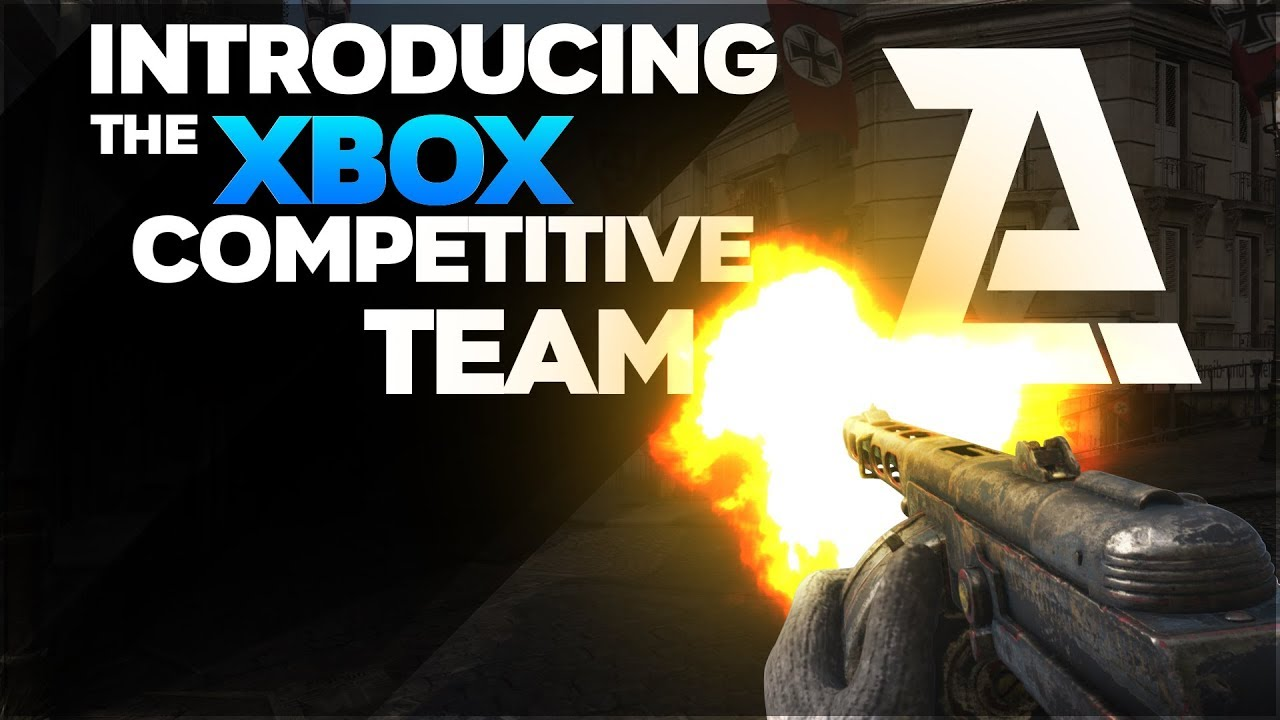 Introducing The Cod Xbox Competitive Team Youtube