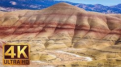Breathtaking Painted Hills, Oregon - 4K  Nature Documentary Film