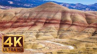 Breathtaking Painted Hills, Oregon - 4K (UHD) Nature Documentary Film