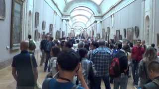 Art lover quick tour of The Louvre, Paris France