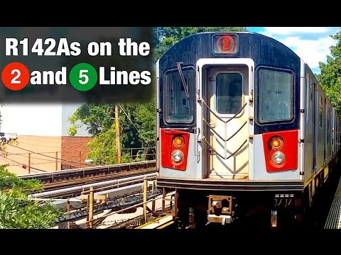 ⁴ᴷ R142As running on the 2 and 5 Lines