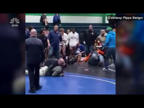 Bad Sport: Dad Assaults Son's Opponent During Wrestling Match