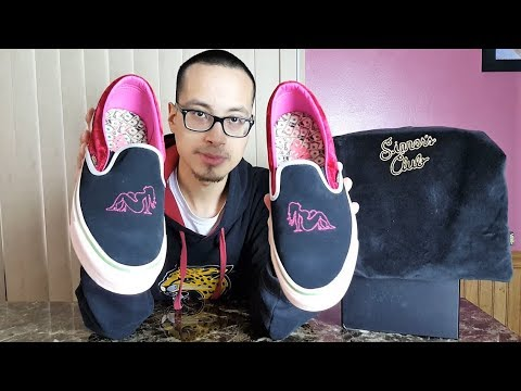 8c09fa3af98 Sneakers Themed as Vegas Night Life! Vans Vault x Feature OG Classic  Slip-On Sinner s Club Review!