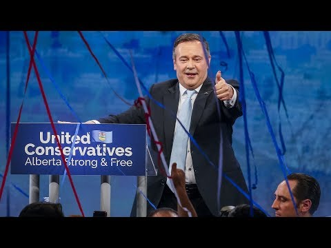 'We have been targeted': Kenney gives fiery victory speech