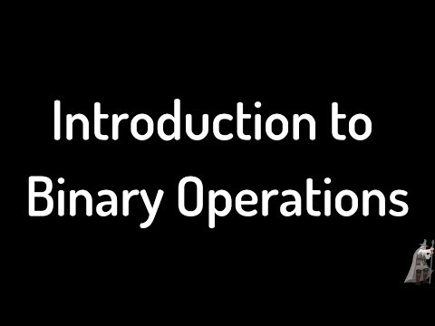 Definition of Binary Operation, Commutativity, and Examples Video