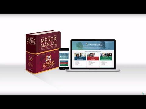 Redesigned MerckManuals.com Website