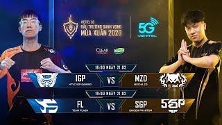 IGP vs MZD | FL vs SGP [21.02.2020] - Viettel 5G ĐTDV mùa Xuân 2020