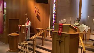 Palm Sunday, Good Shepherd Lutheran Church, LC-MS, Two Rivers, WI, Rev. William Kilps