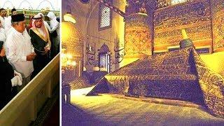 Subhanalloh,, SBY diizinkan masuk kedalam Makam Rasululloh SAW dan masuk kedalam Kabah.,.
