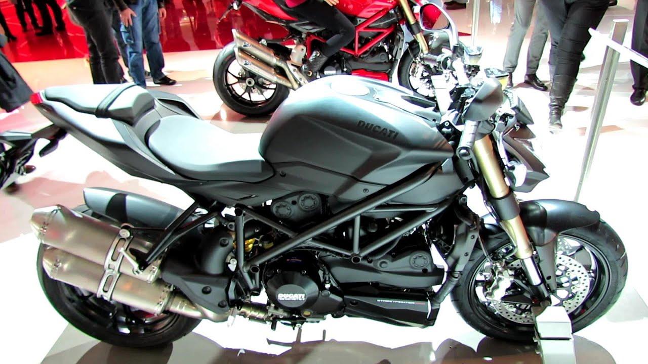 2014 Ducati Streetfighter 848 Black Colour Walkaround