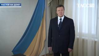 Янукович снова как живой,рассказал про выборы президента, которые принесли народу лишь смерть