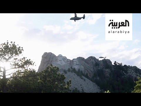 ترمب ينطق الحجر بوجه المخربين واليسار  - نشر قبل 22 دقيقة