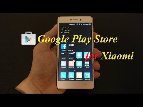 Installing Google Play Store on Xiaomi Redmi 3S and Review
