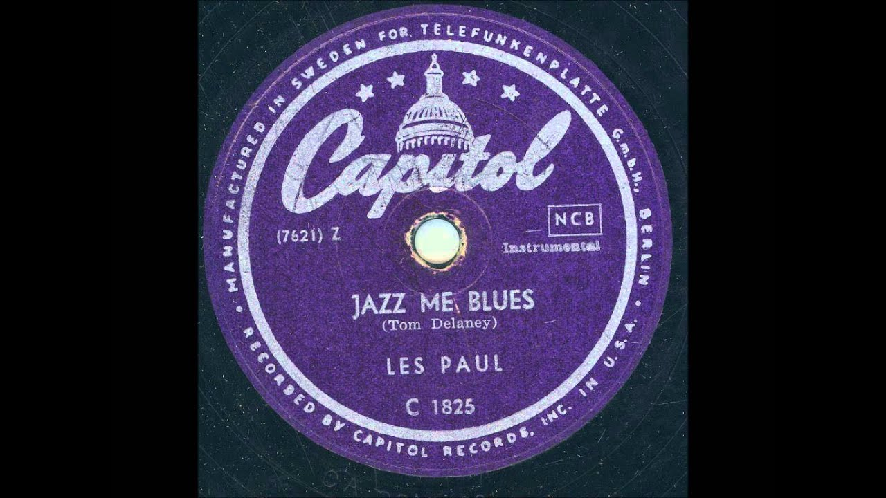 les paul jazz me blues youtube. Black Bedroom Furniture Sets. Home Design Ideas