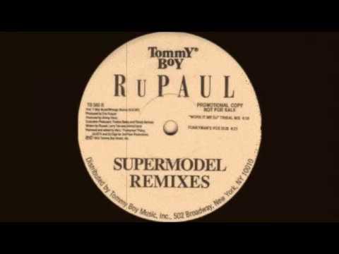 RuPaul - Work It Mr. DJ (You Better Work Tribal Mix) 1993