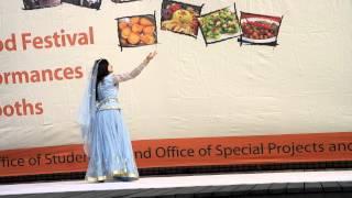 """Uzundere"" Azerbaijani dance by Adika, KAIST International Food Festival , South Korea"