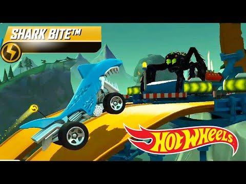Hot Wheels: Race Off - Shark Bite Supercharged Unlocked & Maxed #2 | Android Gameplay | Droidnation