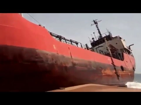 Tanker Ship | Tamaya 1 | washed ashore in Liberia