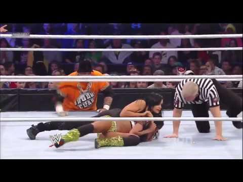 Cameron & Naomi Vs. Tamina Snuka & Aksana - WWE Main Event ...