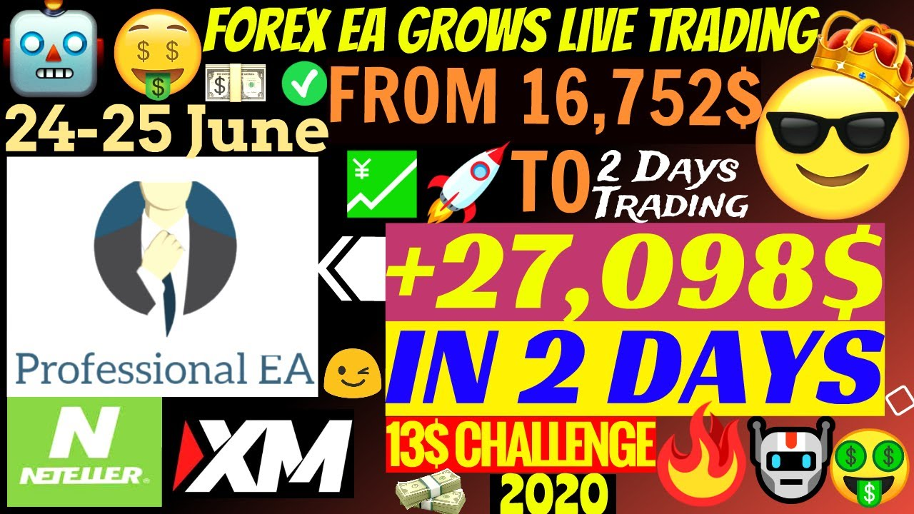 💹 Forex EA Grows Live Trading Account +27,098$ In 2 Days!!!🤑 | Professional EA