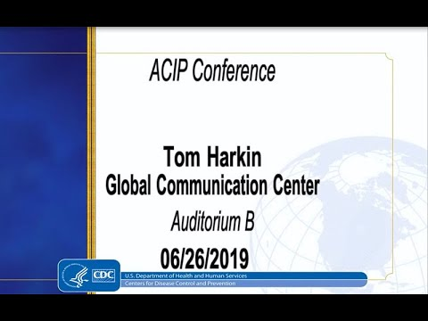June 2019 ACIP Meeting - Welcome & Introductions; HPV