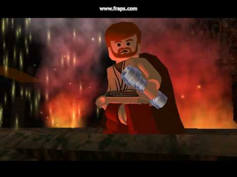 lego starwars episode 3:anakin vs obiwan partie6 - youtube