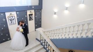 Свадьба Маши и Алексея. Январь 2017. Запорожье. Во дворце у принцессы