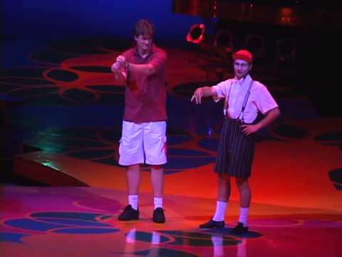 Jesko, Cirque du Soleil, Saltimbanco, Clown ACT 2