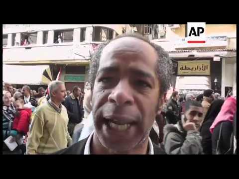 Tahrir Square demo; reax to Ganzouri; Alexandria protest; pro-military demo