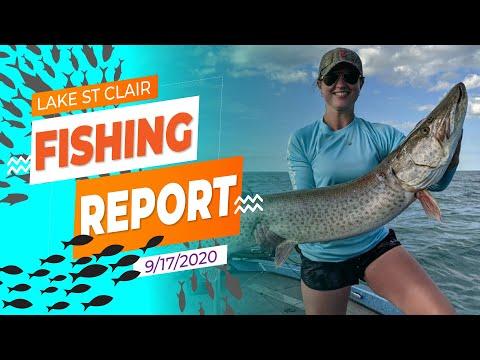 Lake St. Clair Fishing Report 9/17/2020