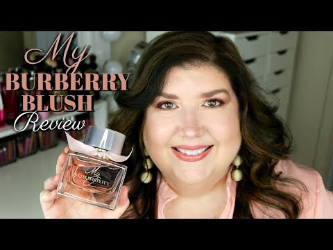 MY BURBERRY BLUSH PERFUME REVIEW